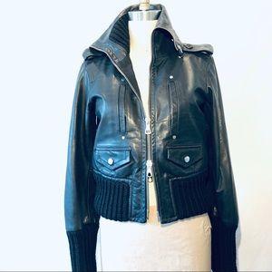 Dsquared2 iconic motorcycle jacket.